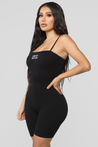 Limited Edition Bodysuit - Black