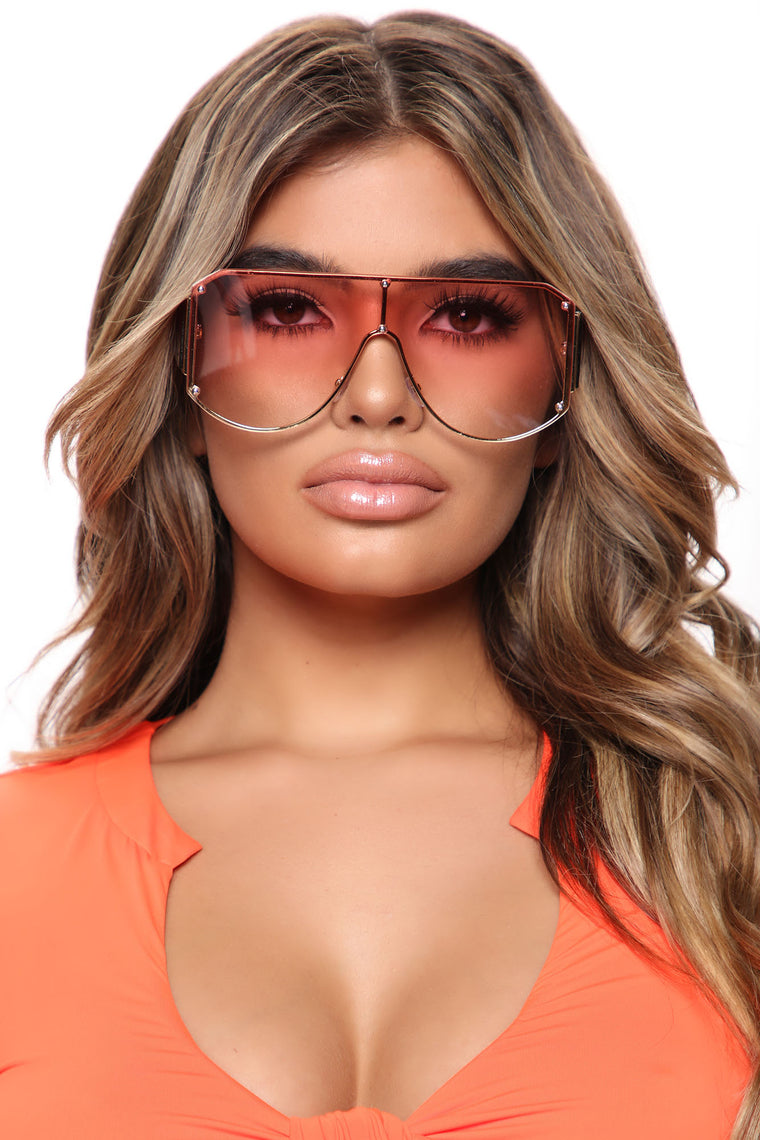 Shoot Your Shot Sunglasses - Pink