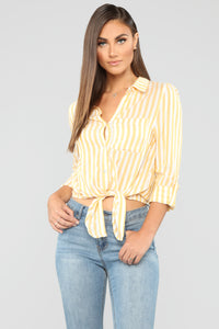 Alvena Shirt - Yellow