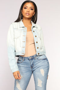 Heading South Denim Jacket - Light Denim