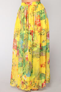 Expression Skirt - Yellow