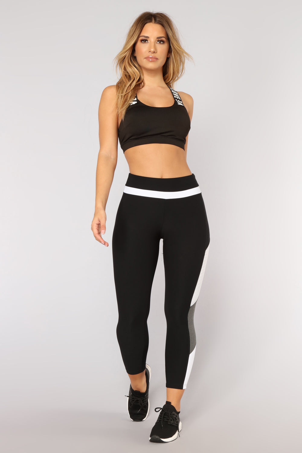 Train For Gains Performance Leggings - Black/combo