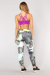 Part Of Your World Performance Sports Bra - Magenta