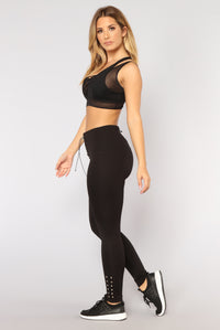 Missy Performance Leggings - Black