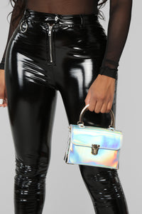 Studs Only Mini Bag - Iridescent