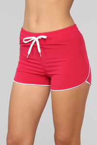 My Fave Running Shorts - Berry