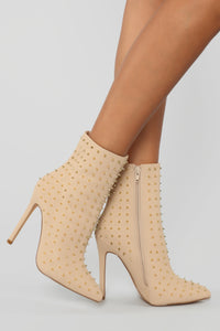 My Turn Booties - Nude