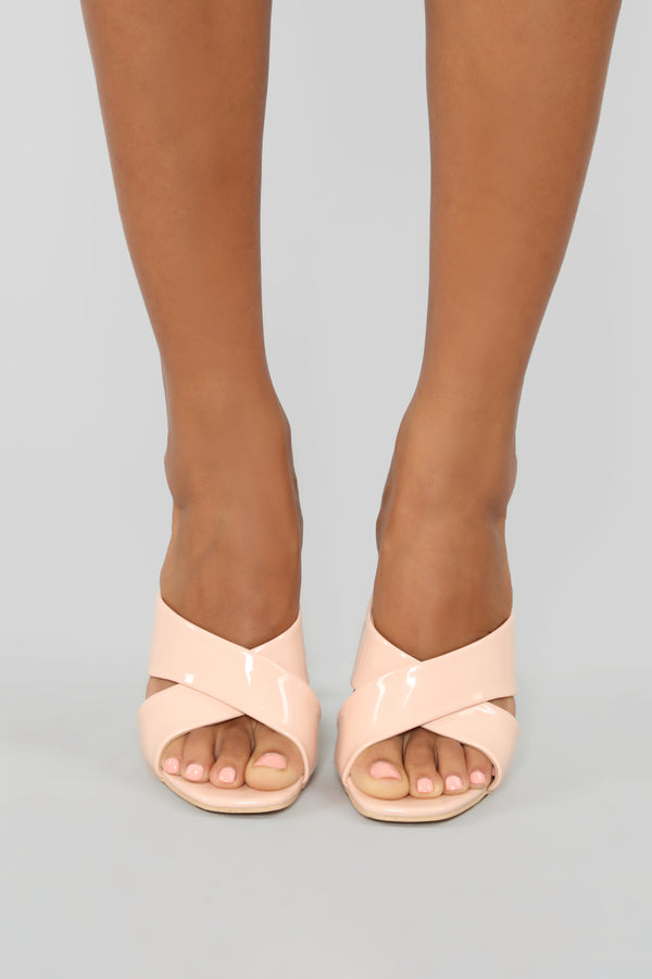 a44d97586d3 It s You Not Me Heeled Sandal - Nude