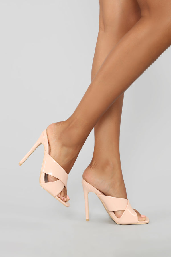 02cb3e78eaf It s You Not Me Heeled Sandal - Nude