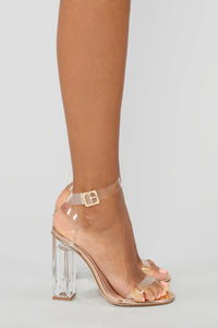The Glass Slipper - Rose Gold