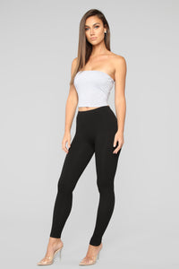 Better Than The Rest Seamless Leggings - Black Angle 3