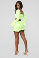 Bright Eyedea Eyelet Set - Neon Lime