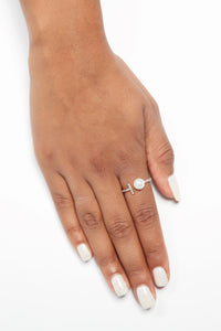 Pearl Gin Single Ring - Gold
