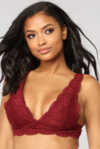 Eternal Spice Bralette - Wine