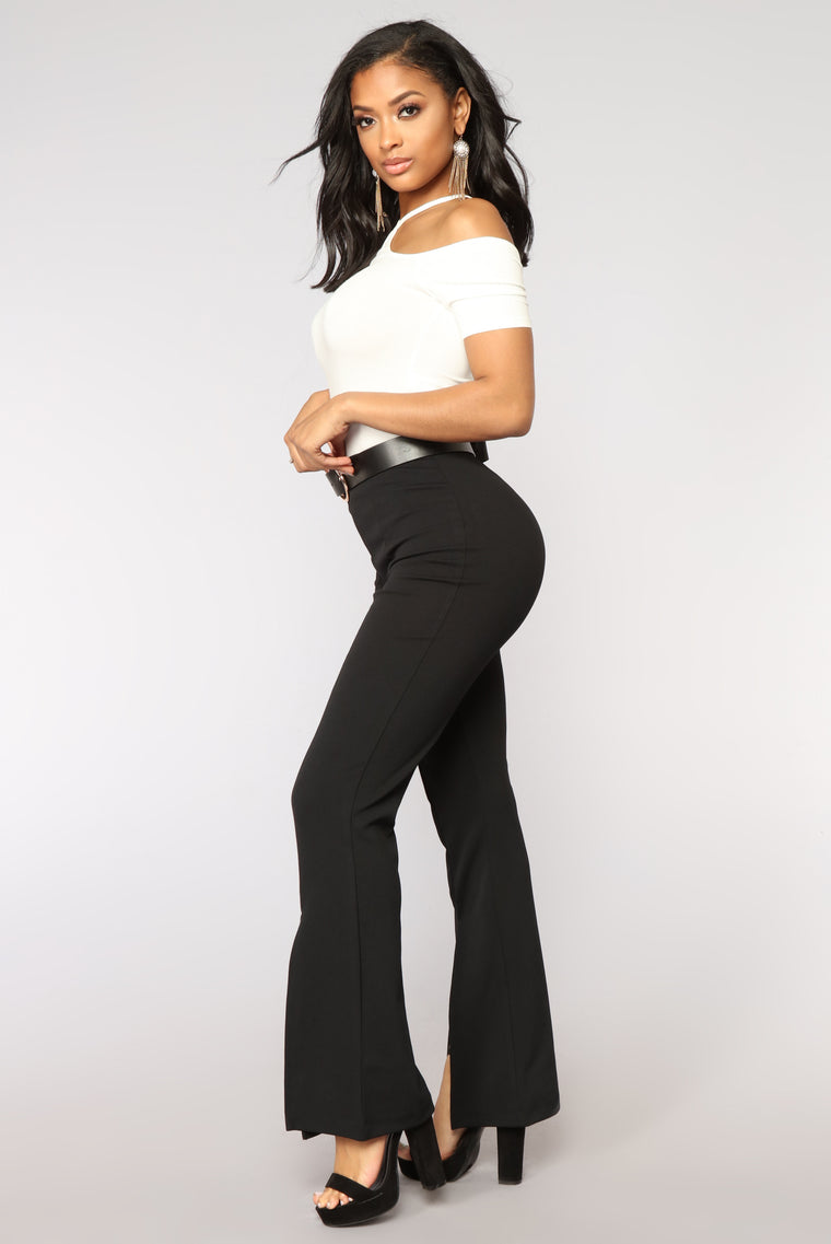 Disco Diva Flare Pants - Black