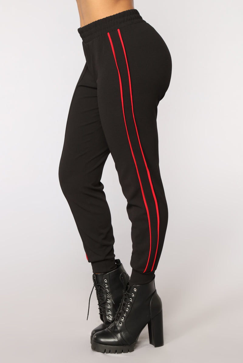 Drop The Roof Joggers - Black