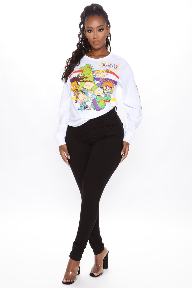 Rugrats Long Sleeve Tee - White/combo