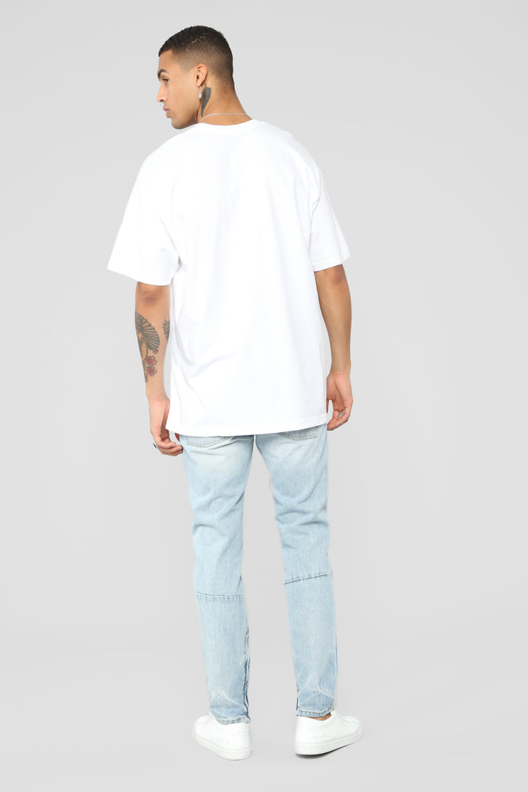Gimme The Loot Short Sleeve Tee - White/combo