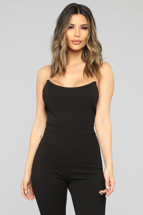 Total Diva Jumpsuit - Black b04c6997f