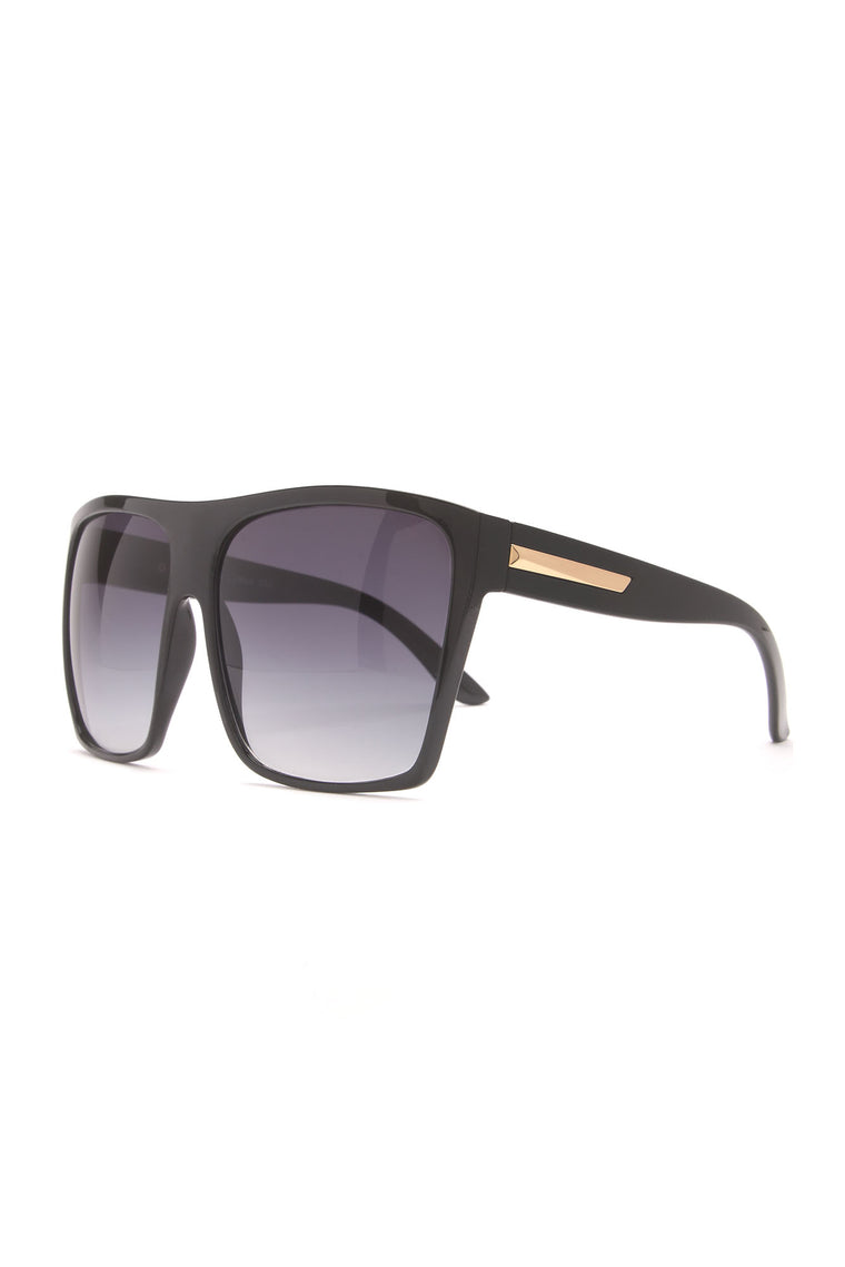 Gearing Up Sunglasses - Black