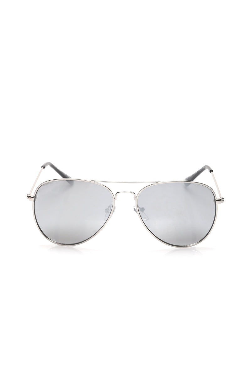 Day After Day Sunglasses - Silver/combo