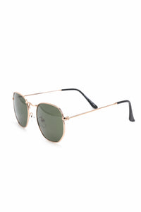 Color My World Sunglasses - Gold