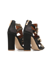 Almost Fell In Love Heel - Black Angle 4