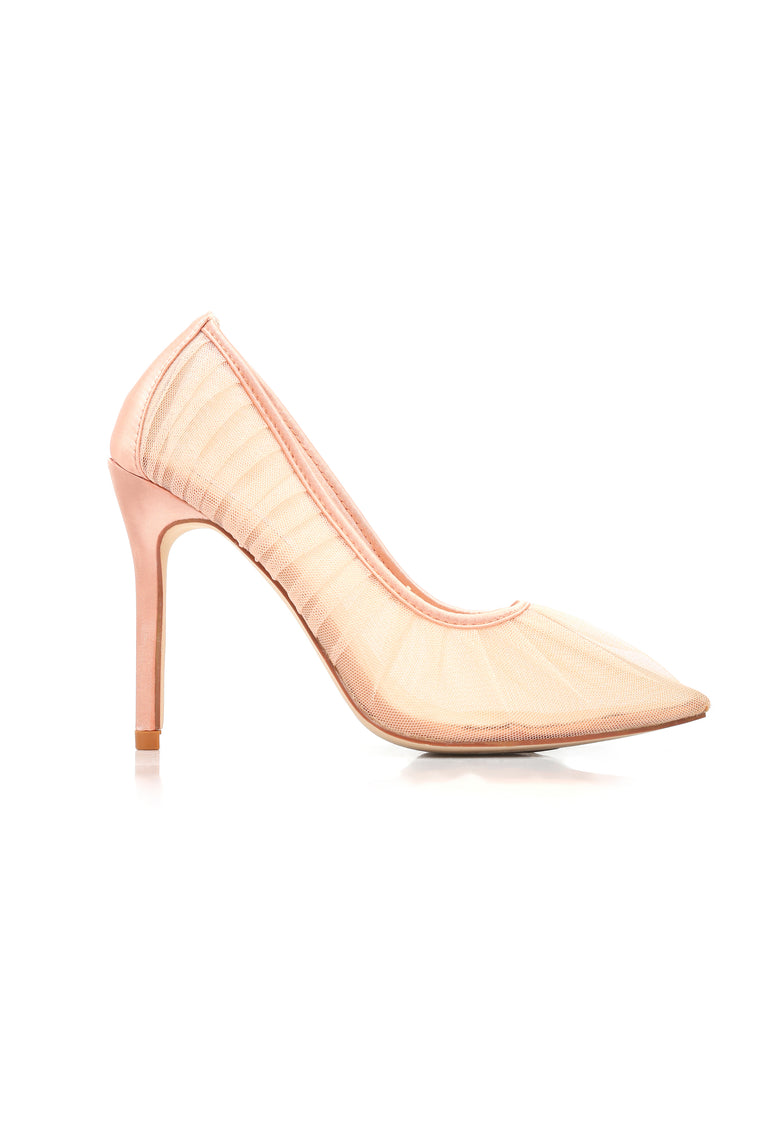 Nothing Left To See Pump - Rose Gold