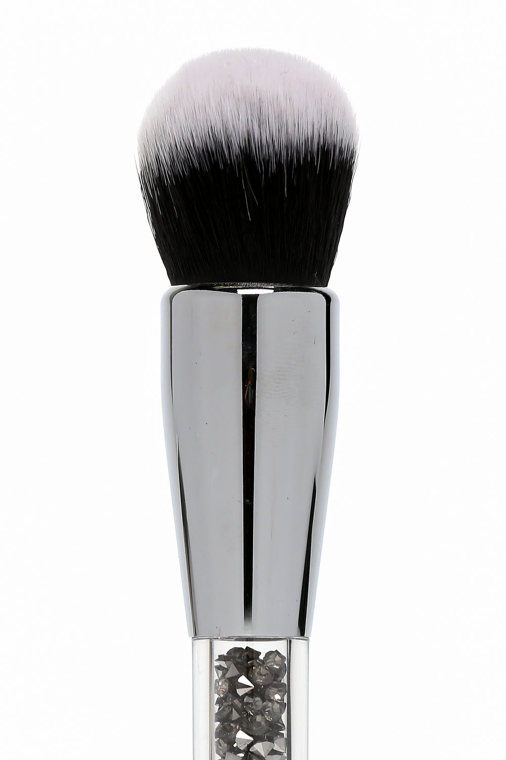 Bebella Cosmetics Duo Foundation Bling Brush - Gunmetal
