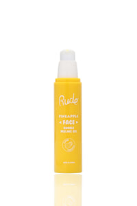 Rude Cosmetics Pineapple Face Bubble Peeling Gel - Yellow