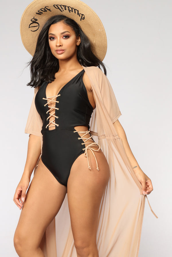 1c2b55ce83 Got It Covered Mesh Cover Up - Nude