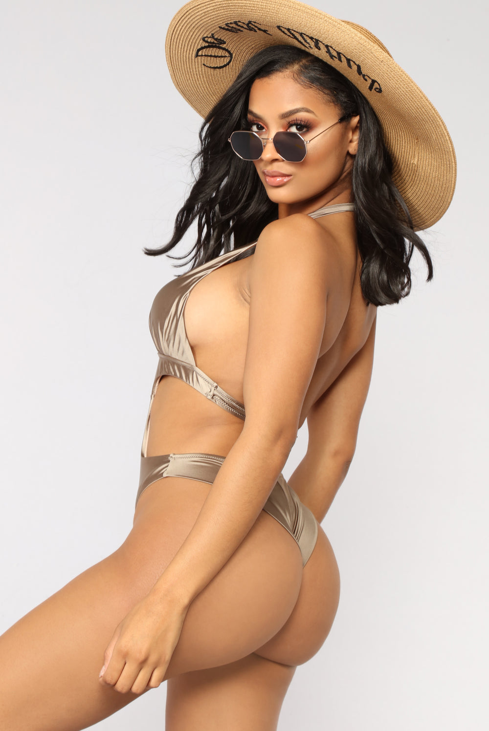 On The Coast Monokini - Khaki