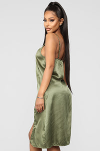 Ma petite Amie Gown - Green Angle 2
