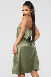 Ma petite Amie Gown - Green Angle 3