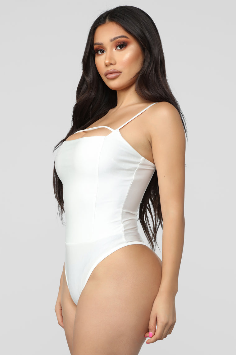 Skyla Strappy Bodysuit - Off White