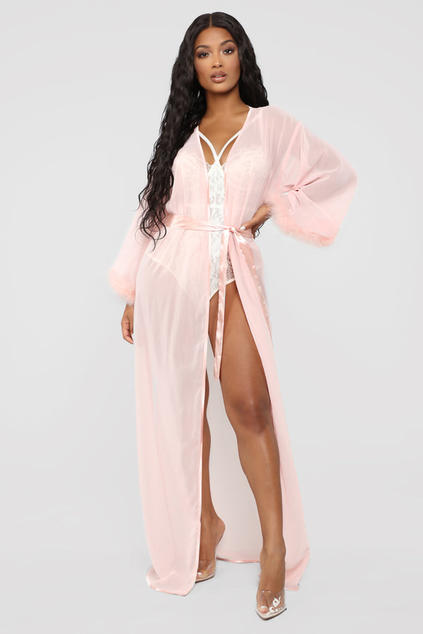 5f352fab8c74 Home Alone Robe - Pink