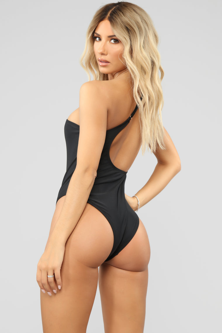 On A Summers Day Swimsuit - Black