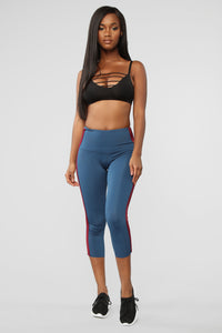 She's Got Game Active Legging - Teal