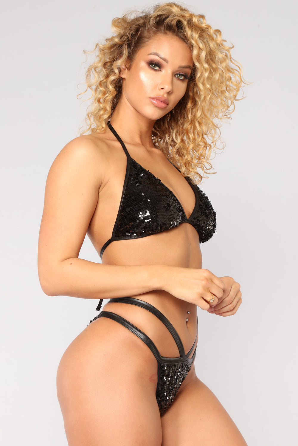 Reflection On The Sea Bikini - Black