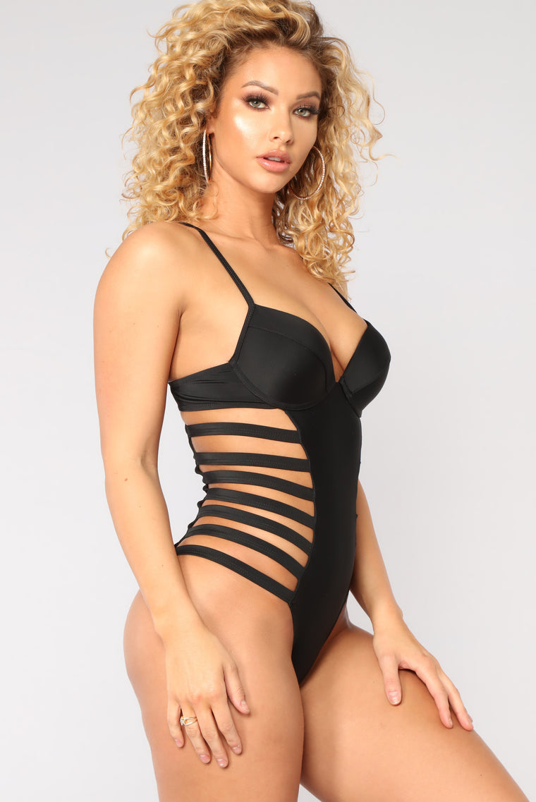 Cruising Along Swimsuit - Black