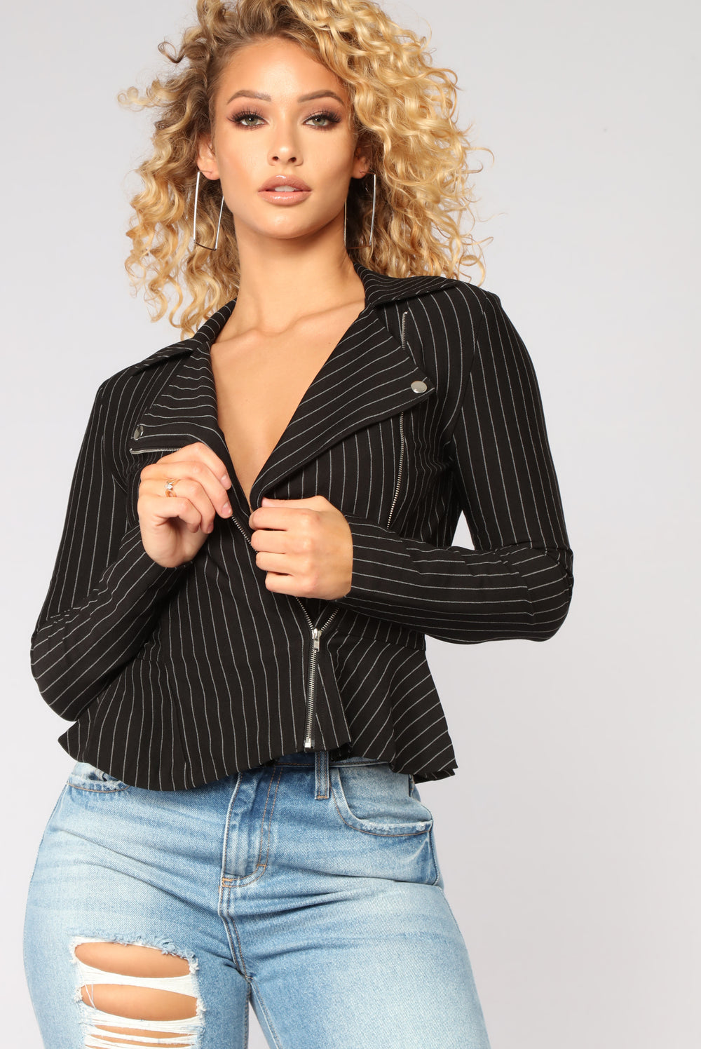 Spiked With Style Jacket - Black