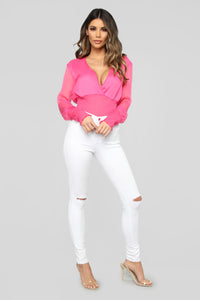 Harlow Top - Hot Pink