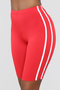 Tennis Pro Short Set - Red Angle 4