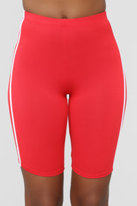 Tennis Pro Short Set - Red Angle 6