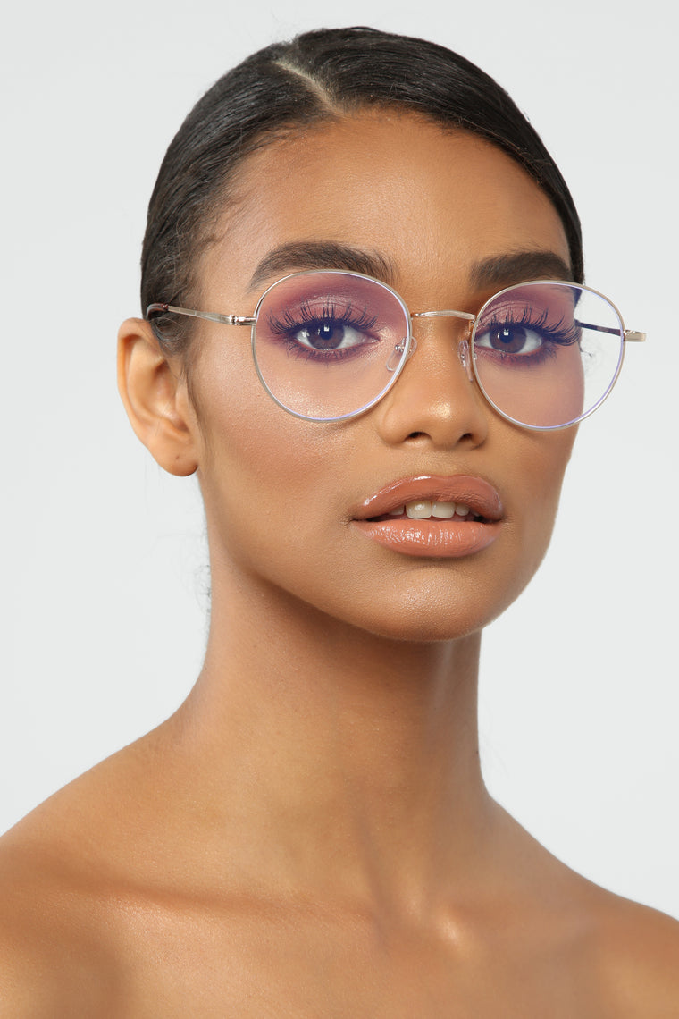 Dreamer Blue Light Glasses - Gold