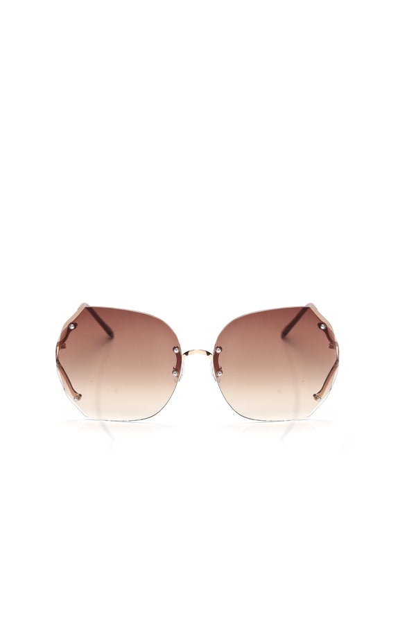 c4880aa9fd7 Through The Wire Sunglasses - Brown