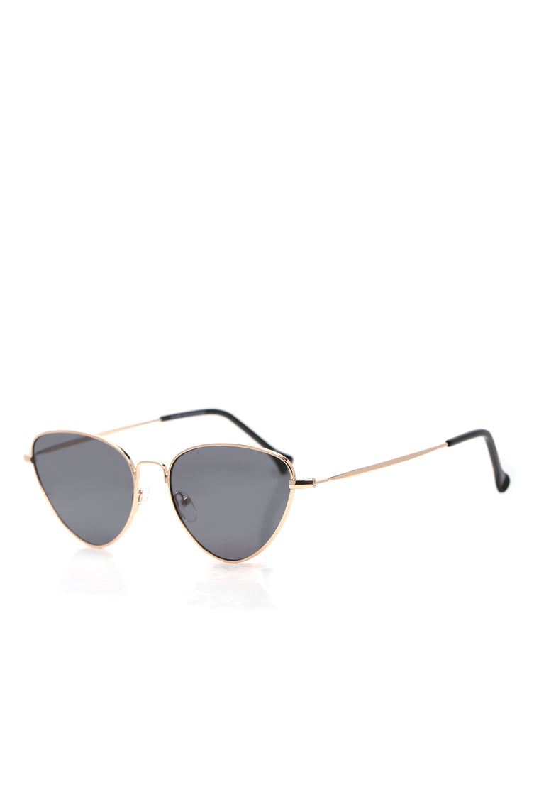 Cristianna Aviator Sunglasses - Gold/combo