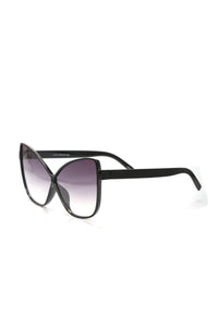 Butterfly Effect Sunglasses - Black/Smoke