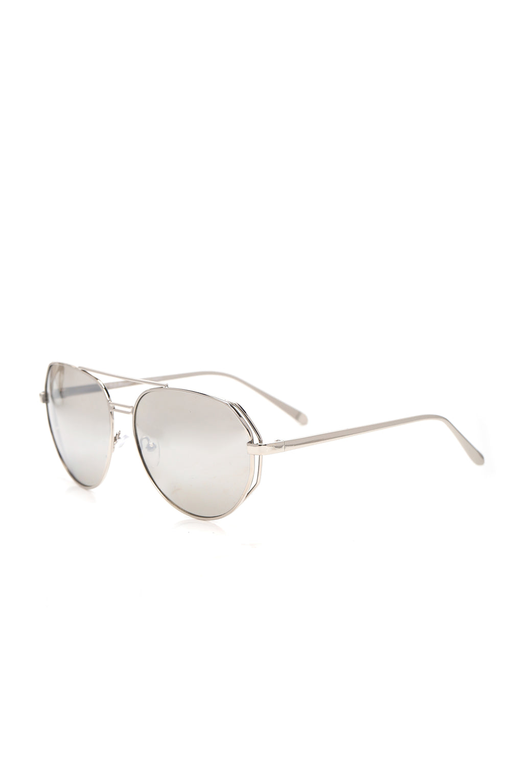 Steal A Kiss Sunglasses - Silver