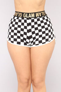 In The Fast Lane Shorts - Black
